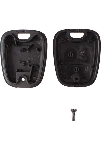 Citroen 2 Buton Anahtar Kabı (Yale)