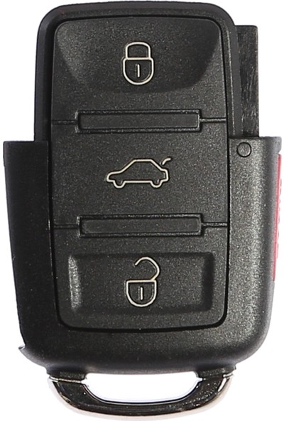 Volkswagen 3 Butonlu Anahtar Kabı (Panik Butonlu)
