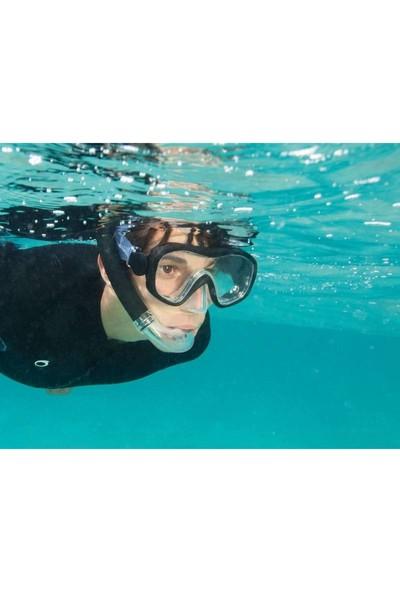 Subea Şnorkelle Dalış Seti Şnorkel Ve Palet Mavi