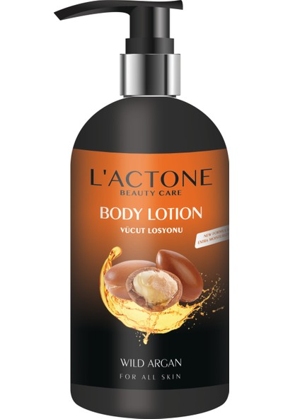 Lactone Wıld Argan Oıl Body Lotıon 250 ML