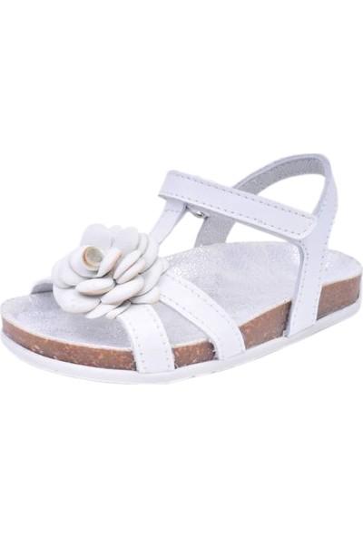 Paplus Kız Çocuk Sandalet Rosie Beyaz