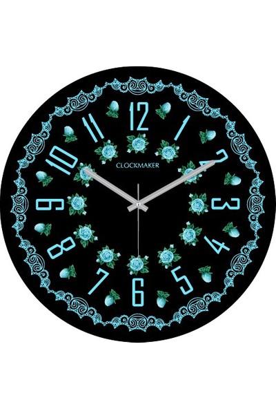 Clockmaker By Cadran 30X30 Mdf Duvar Saati Cmm125