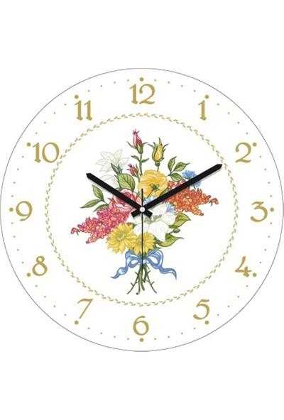 Clockmaker By Cadran 30X30 Mdf Duvar Saati Cmm196