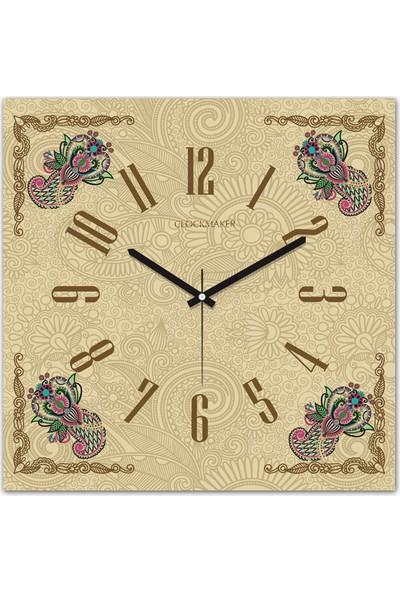 Clockmaker By Cadran 30x30 Mdf Duvar Saati CMM222