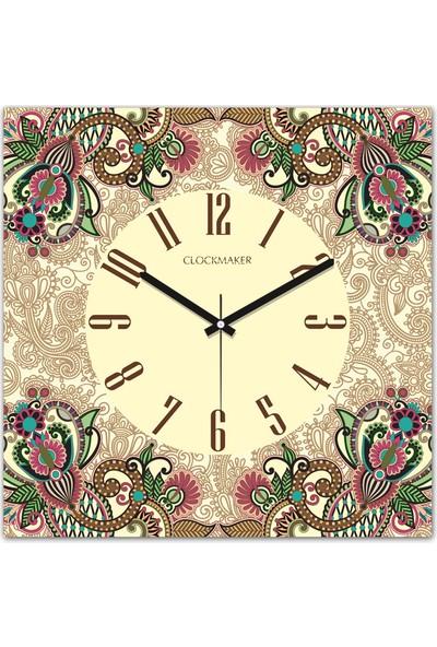 Clockmaker By Cadran 30x30 Mdf Duvar Saati CMM225