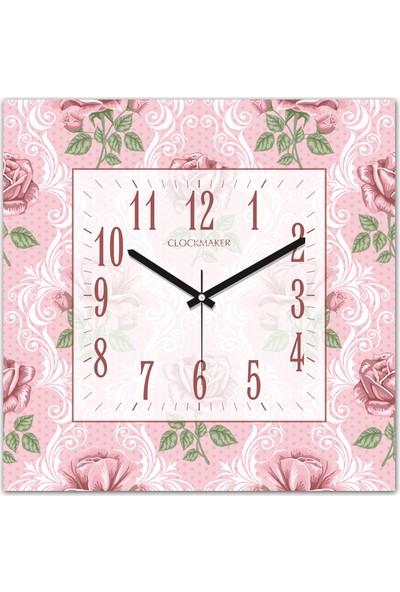 Clockmaker By Cadran 30x30 Mdf Duvar Saati CMM260