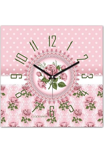 Clockmaker By Cadran 30x30 Mdf Duvar Saati CMM261