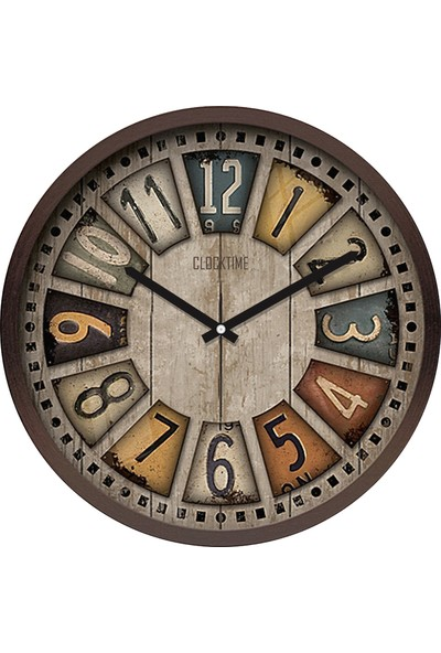Clocktime By Cadran 30x30 Cm MDF Duvar Saati CTM107