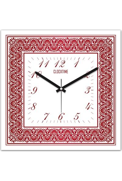 Clocktime By Cadran 30x30 Cm MDF Duvar Saati CTM124