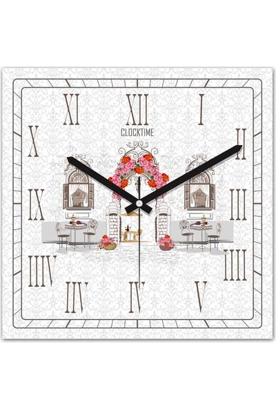 Clocktime By Cadran 30x30 Cm MDF Duvar Saati CTM142