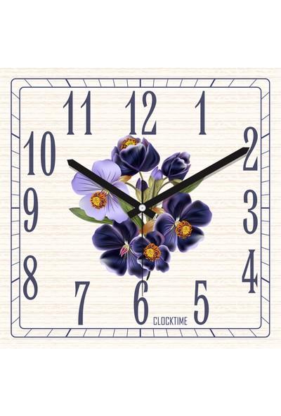 Clocktime By Cadran 30x30 Cm MDF Duvar Saati CTM162