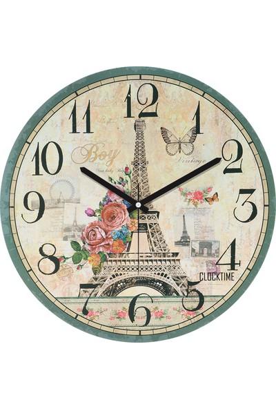 Clocktime By Cadran 30x30 Cm MDF Duvar Saati CTM26