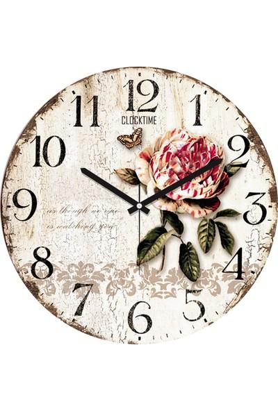 Clocktime By Cadran 30x30 Cm MDF Duvar Saati CTM30