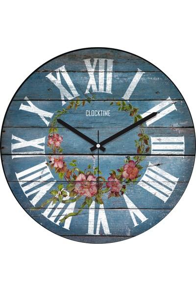 Clocktime By Cadran 30x30 Cm MDF Duvar Saati CTM31