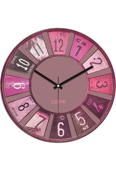 Clocktime By Cadran 30x30 Cm MDF Duvar Saati CTM36