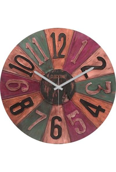 Clocktime By Cadran 30x30 Cm MDF Duvar Saati CTM43