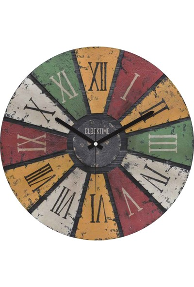 Clocktime By Cadran 30x30 Cm MDF Duvar Saati CTM75