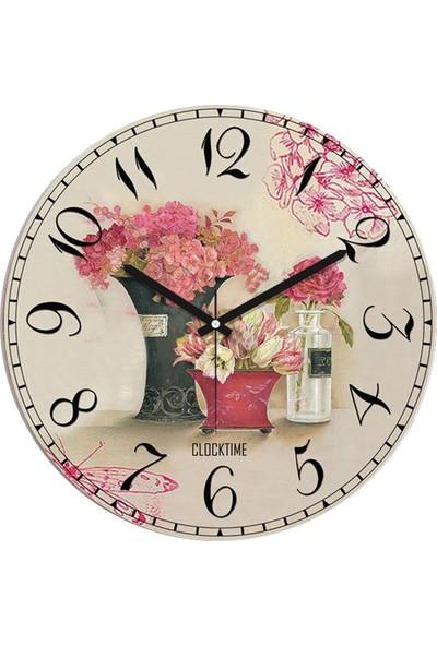 Clocktime By Cadran 30x30 Cm MDF Duvar Saati CTM81