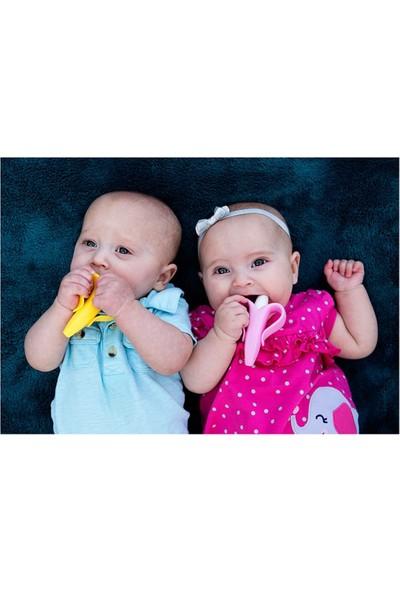 Baby Banana Diş Kaşıyıcı Diş Fırçası - Muz