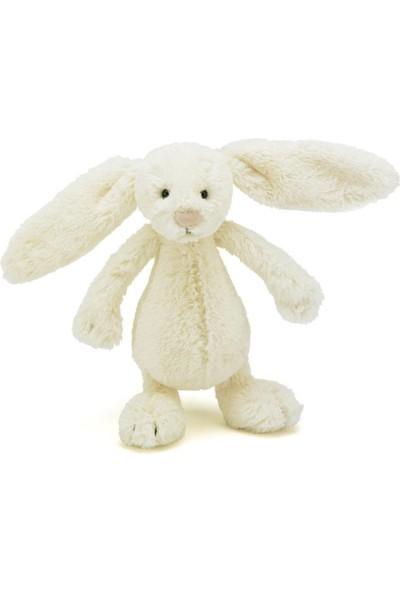 Jellycat Bashful Krem Tavşan Küçük Boy 18 cm