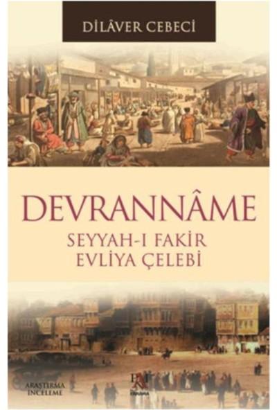 Devrannama Seyyah-ı Fakir Evliya Çelebi