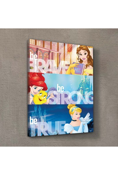 Artikel Prensesler-2 50X70 Cm Kanvas Tablo
