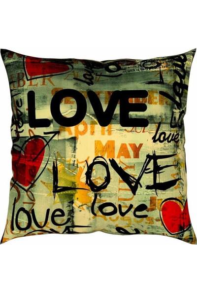 Artemisia Home Love Yastık Kırlent 43 x 43 cm