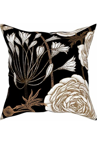 Artemisia Home Çiçek Yastık Kırlent 43 x 43 cm