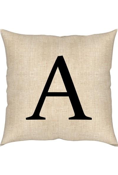 Artemisia Home Keten Yastık Kırlent 43 x 43 cm