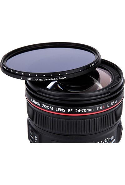 JJC 49mm Değişken Koyuluklu Neutral Density Filtre (2-9 Stop)