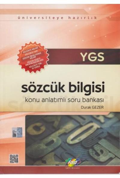 Fdd Ygs Sözcük Bilgisi Konu Anlatımlı Soru Bankası
