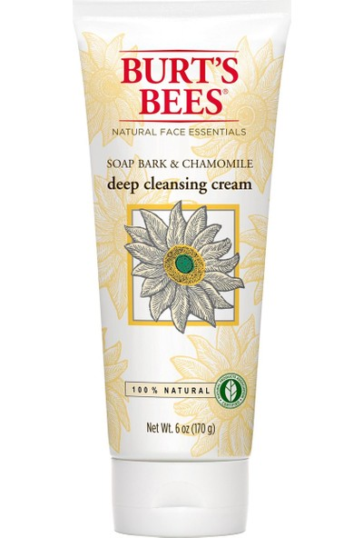 Burt's Bees Soap Bark & Chamomile Deep Cleansing Cream Derinlemesine Etkili Yüz Temizleme Kremi 170 GR