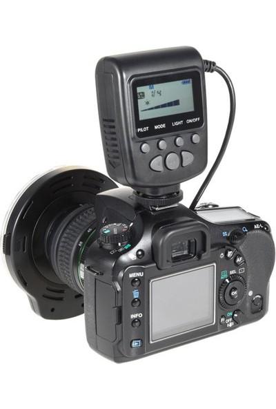 Meike Sony Alpha Dslr Makinalar İçin Fc110 Led Macro Ring Flaş