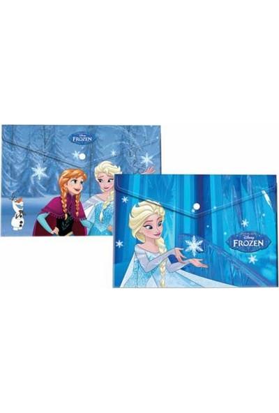 Frozen Lisanslı A4 Çıtçıtlı Dosya (Plastik)