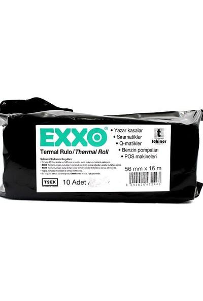 Exxo Termal Rulo 56 mm x 16 m. 10'lu paket