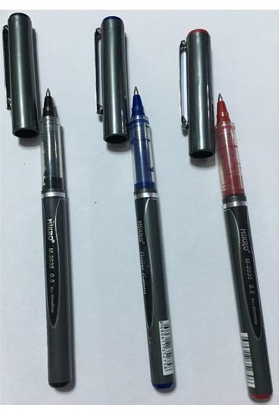Mikro M-2035 Roller Kalem 0.5 mm Mavi