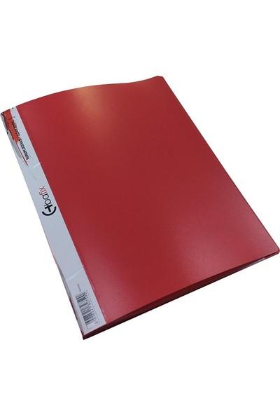 Bafix Sunum Dosyası 20 Yaprak Kırmızı