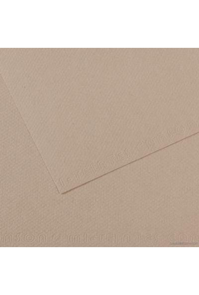 Canson Mi-Teintes Dokulu Fon Kartonu 50x65 cm 122 Gri 1 Adet