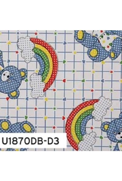 Umix Fix 2mx45cm Yapışkanlı Folyo Dekoratif Ayıcıklar U1870DB-D3