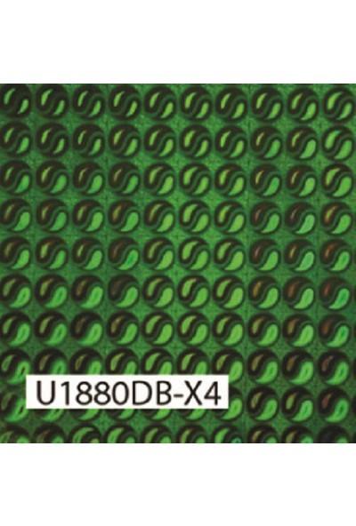 Umix Fix 2mx45cm Yapışkanlı Folyo Hologram Yeşil U1880DB-X4