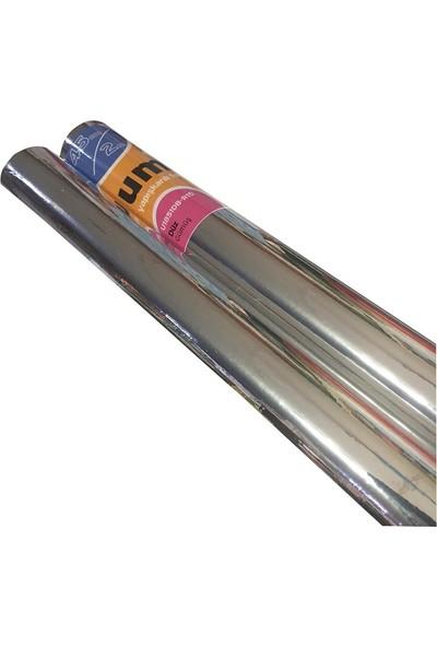 Umix Fix 2mx45cm Yapışkanlı Folyo Düz Gümüş U1851DB-R15