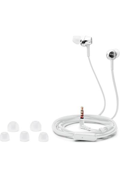 Sony MDR-EX250AP Kulakiçi Kulaklık - Beyaz (İthalatçı Garantili)