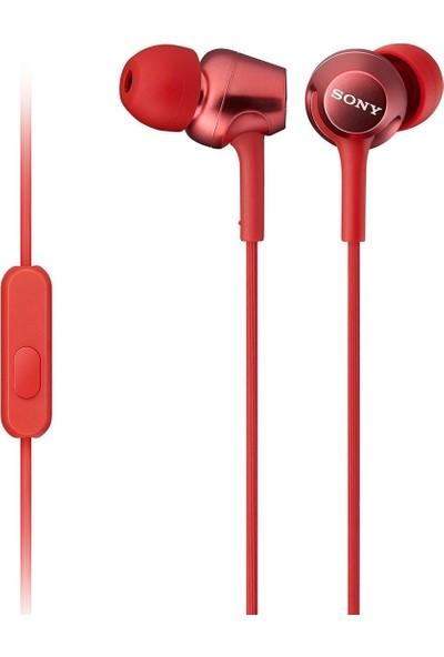 Sony MDR-EX250AP Kulakiçi Kulaklık - Kırmızı (İthalatçı Garantili)