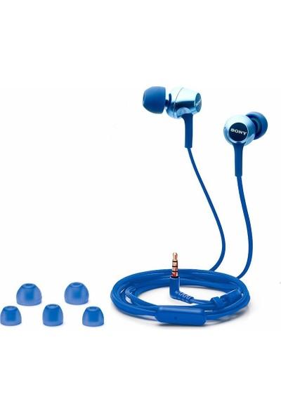 Sony MDR-EX250AP Kulakiçi Kulaklık - Mavi (İthalatçı Garantili)