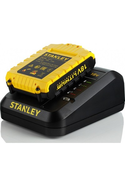 Stanley STDC18LHBK-TR 18Volt/2,0Ah Li-ion Çift Akülü Profesyonel Darbeli Matkap