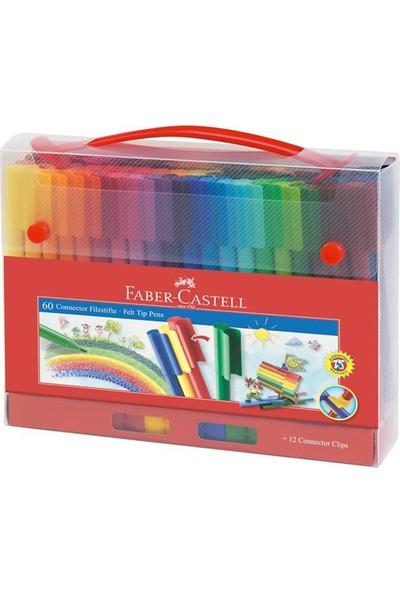 Faber-Castell Eğlenceli Keçeli Kartlı 60'lı Set