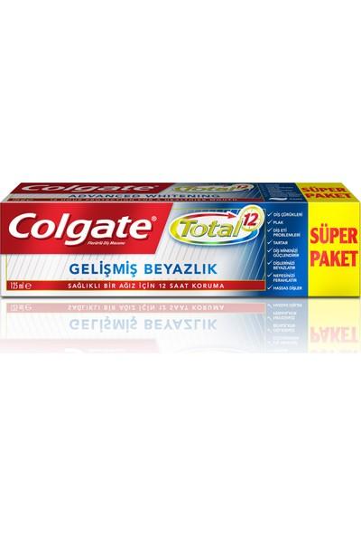 Colgate Total Gelişmiş Beyazlık Diş Macunu 125 ml