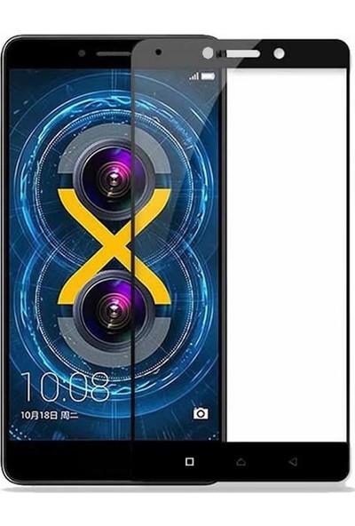 Microcase Lenovo K6 Note Renkli Çerçeveli Tempered Ekran Koruyucu
