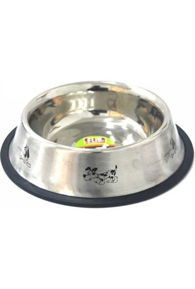 8 Oz. KE-3202MD Figürlü Çelik Mama Kabı