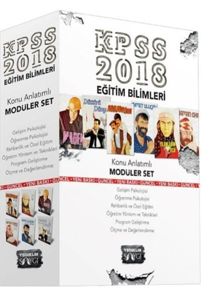 Yediiklim Yayınları 2018 KPSS Eğitim Bilimleri Konu Anlatımlı Modüler Set